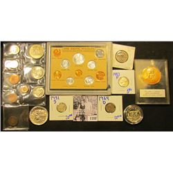1180 . Hodgepodge Coin Lot Includes The Exotic Wildlife Coins Of The World, all BU (10 pc.); 1972 So