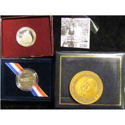 1240 . The Mayor Chicago Richard Joseph Daley Medal & Box Set; 2003 P First Flight Commemorative Pro