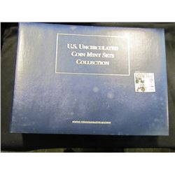 1269 . U.S. uncirculated mint set and stamp collection.  The first year starts with 1966 and include