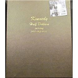 1278 . Dansco Kennedy Half Dollar Includes Proof Only Issues. Empty Book no coins.