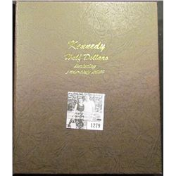 1279 . Dansco Kennedy Half Dollar Includes Proof Only Issues. Empty Book no coins.