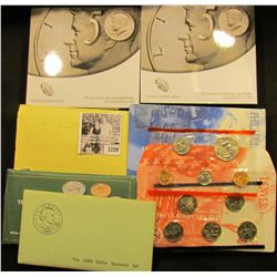 1289 . (2) 50th Anniversary Kennedy Half Sets, each set comes with a half dollar from the Philadelph