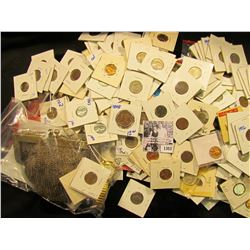 1303 . Junk Drawer Coin Lot. Included In This Lot Is A Disney Watch With Mickey Mouse, Steel Mesh Pu