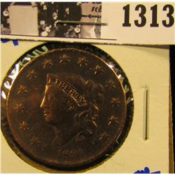 1313 . 1831 Coronet Head Large Cent