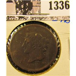 1336 . 1839 Modified Head Large Cent
