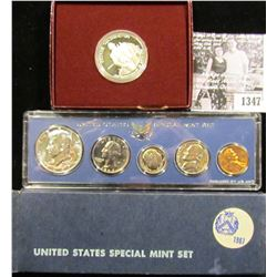 1347 . 1967 Special Mint Set;  & 1982-S Proof George Washington Silver Commemorative Half Dollar