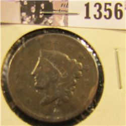 1356 . 1836 Coronet Head Large Cent