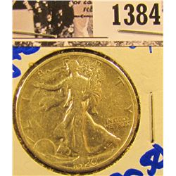 1384 . 1920-S Walking Liberty Half Dollar