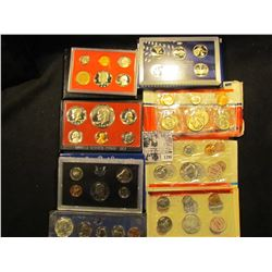 1396 . 1966 Special Mint Set in a 1967 box; 1982 S Proof Set; 2007 S State Quarters Set, 1974 S Proo