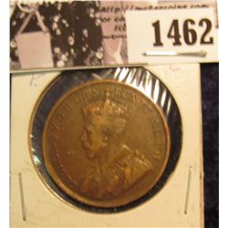 1462 . 1916 Canada Large Cent, VF.