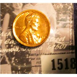 1518 . 1920 P Lincoln Cent, Red-Brown Uncirculated.