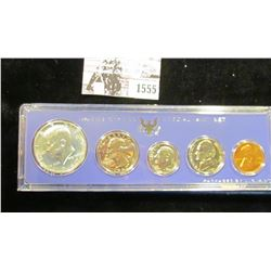 1555 . 1967 U.S. Special Mint Set, Silver in original box of issue.