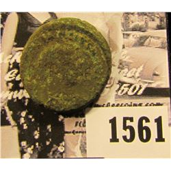 1561 . Ancient Roman coin with a slight amount of Silvering remaining.