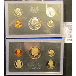 1593 . 1968 S Silver & 1983 S U.S. Proof Sets, Original as issued.