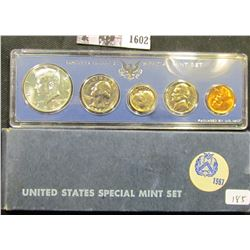 1602 . 1967 Silver Special Mint Set in original box of issue.