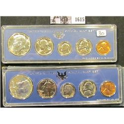 1615 . (2) 1966 U.S. Special Mint Sets, in government cases.