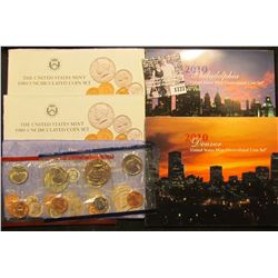 1727 . (2) 1989, 91, & 2010 U.S. Mint Sets, all original as issued. (Total of $19.28 face value).