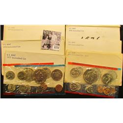 1771 . 1974, 75, 76, 77, 78, & 79 U.S. Mint Sets. All original as issued. (total face value $19.10)