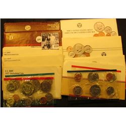 1775 . 1977, 79, 80, 84, 85, 86, 87, 88, & 89 U.S. Mint Sets. All original as issued. (total face va