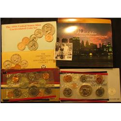 1780 . 1984, 90, 94, 98, & 2010 U.S. Mint Sets. All original as issued. (Total face value $21.10)