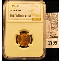 1785 . 1936 S Lincoln Cent NGC slabbed MS65 RD.