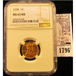 1786 . 1936 S Lincoln Cent NGC slabbed MS65 RD.