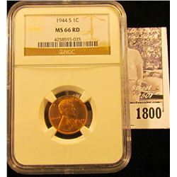 1790 . 1937 P  Lincoln Cent NGC slabbed MS66 RD.