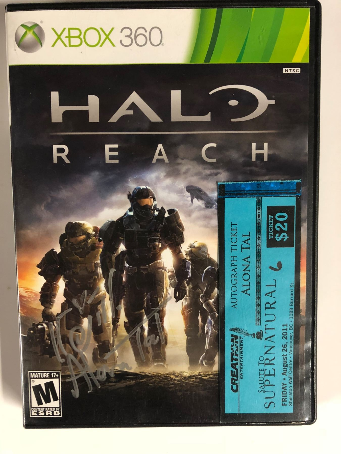 halo reach video game