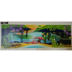 """""""Banyan Bay"""" by Mark Swanson, Giclee Canvas, 30-3/4"""" x 10, $300 Retail, 39/150, Signed & Numbered Ca"""