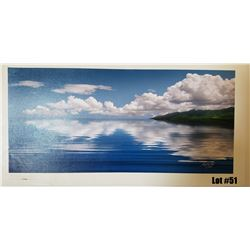 """""""Sea of Tranquility"""" by Douglas Page, Giclee Canvas, 30x14, $550 Retail, 17/350, Signed and Numbered"""