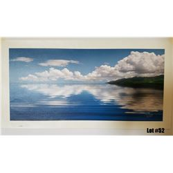 """Sea of Tranquility"" by Douglas Page, Giclee Canvas, 30x14, $550 Retail, 20/150, Signed and Numbered"