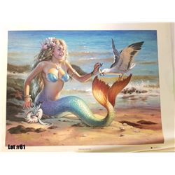 """Sharing Herring"" by Tom Thordarson, 1 of 50 Giclee Canvas RM, 24x18, $1200 Retail, Signed and Numbe"