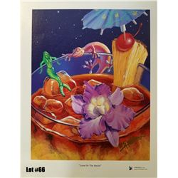 """""""Love on the Rocks"""" by Tom Thordarson, Giclee Canvas, 11x14, $150 Retail, 57/350, Signed and Numbere"""