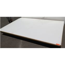 "Qty 4 Bellisima White Melamine Particle Sheets 1 1/8"" (49X97)"