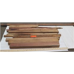 Unfinished Koa Wood, Various Lengths