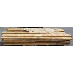 "Pallet of 3x4s, 3x6s Norfolk Big Island Pine, Various Lengths (longest pieces approx. 103"", most are"