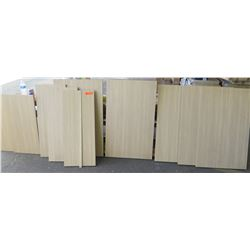 "Qty 9 Miele Melamine Precut Plywood Sheets 3/4"" (36"" and Various Sizes)"