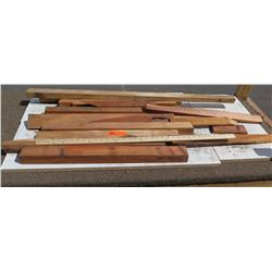 Various Lengths Raw/Unsanded Natural Wood w/ Bark