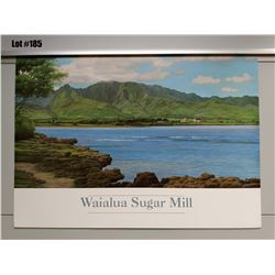 """Waialua Sugar Mill"" by Gary Reed, Paper, 25 1/4 X 18"