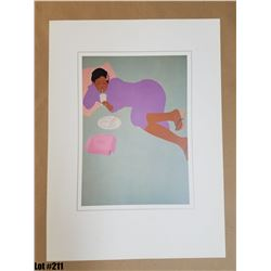"""Qty 5 """"Floating Bento"""" by Pegge Hopper, Paper, 14 x 19-1/4"""