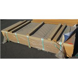 """Qty 60 (approx.) Candlelight Melamine Particle Sheets, Not Pre-Drilled, 3/4"""" (14X97)"""