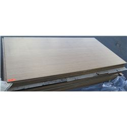 """Qty 6 Bamboo Veneer Plywood Sheets 3/4"""" (4' x 8'), Unfinished"""