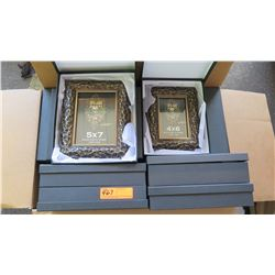 """DM Dzigns Picture Frames 5""""x7"""" and 4""""x6"""" 2pcs"""