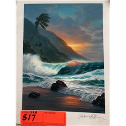 """by Howard Chung, Signed, Ltd. Ed. 29 of 995, Canvas Giclee 6"""" x 8"""""""