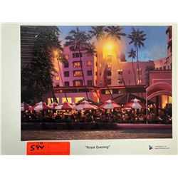 """""""Royal Evening"""" by Rodel Gonzalez, Signed, Ltd. Ed. 28 of 350, Canvas Giclee 12"""" x 9"""" Retail $1500"""