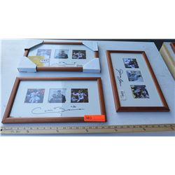 UH Football Sugar Bowl Colt Brennan & Davone Bess Autographed Framed Photos (Qty 3)
