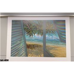 """""""Open Shutters"""" by Russell Lowery, Paper 29-1/2"""" x 22-1/4"""" (qty 5)"""