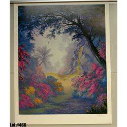 """""""Waterfall"""" by Anthony Casay, Offset Lithograph, 25"""" x 32"""" (qty 5) Signed and Numbered, Retail $1000"""