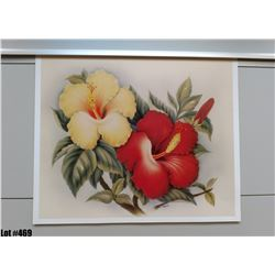 """""""Hibiscus"""" by Eve Hawaii, Paper, 19"""" x 15-3/4"""" (qty 5)"""