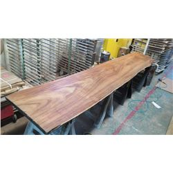 """Massive Natural Koa Wood Slab, Over $15K Value - Extremely Rare, Approx. 156""""L, 34""""W, 3"""" Thick, Harv"""